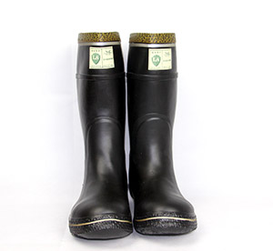 Muck Steel Toe Mining Boots With Rubber Material - Buy Steel Toe