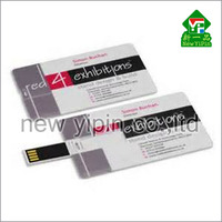 custom cheap Double printing Gift Credit Card USB /usb card /business card Flash Drive Stick