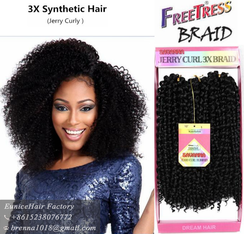 Savana 3x box braids brazilian deep curly ombre hair weave kinky view larger image pmusecretfo Images