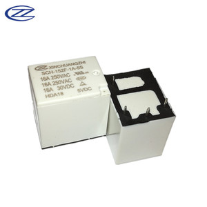DPDT Power Relay 4pin Relay 5V DC 250VAC