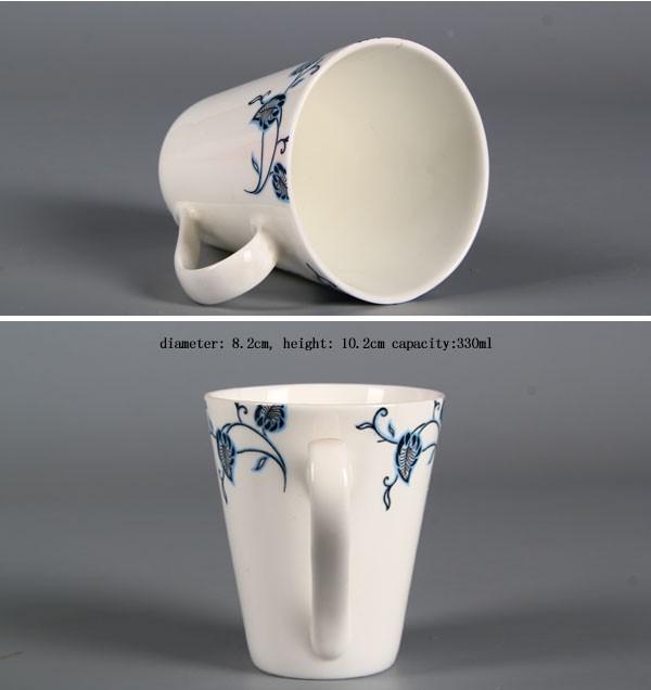 Retail Printed Ceramic Mugs / Paintable Ceramics Mug For Coffee/ Plain  Ceramic Mugs