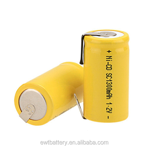 China battery price sc1500 ni cd battery pack 1.2v ni cd sc 1500mah rechargeable battery