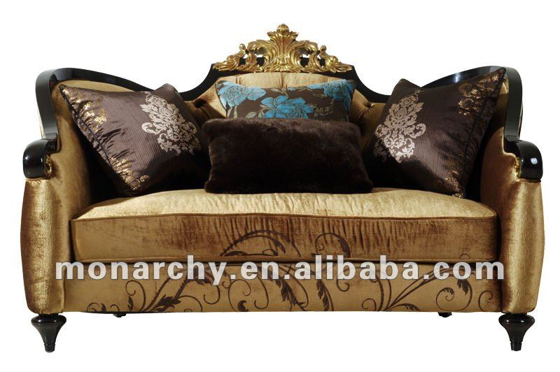 V601-2 Monarchy Wooden High End Sofa - Buy High End Sofa,Wooden Carved Sofa,High  End Fabric Sofa Product on Alibaba