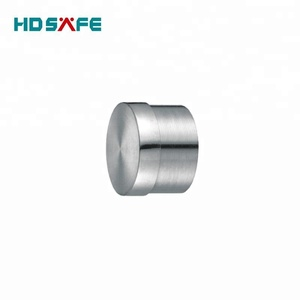 tube fitting design stainless steel end cap for handrail and staircase