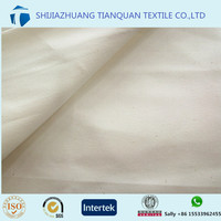 63inch unbleached drill 65% 35% tc pocketing fabric for jeans