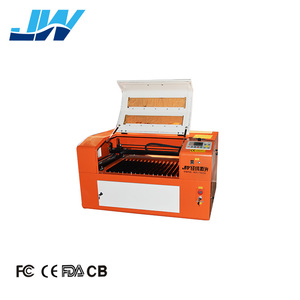 high configuration JW- 4060 6040 460 laser cut handbags gloves cutting carving machine