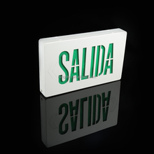 SALIDA led exit sign photoluminescent exit sign <span class=keywords><strong>spaans</strong></span>