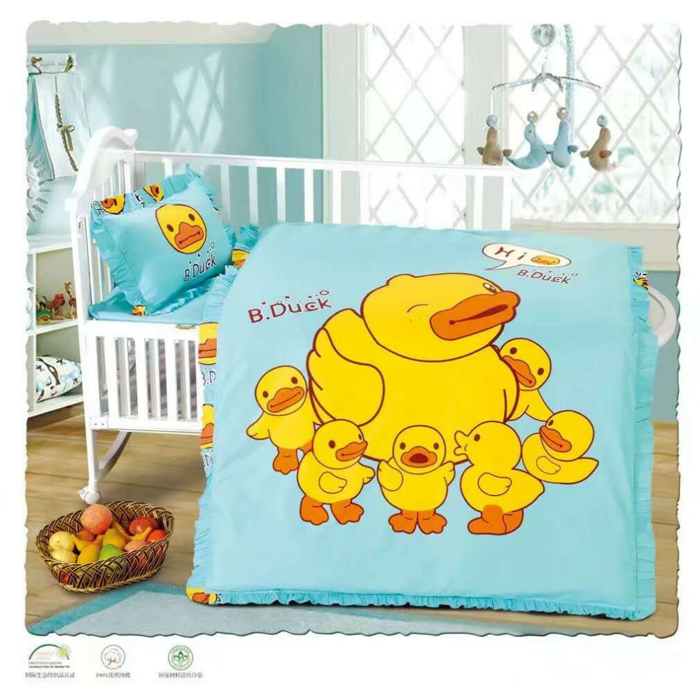 bed sheets set cotton 100%/baby bed sheet bedding set/childrens cotton duvet cover