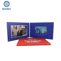 "Perfect promotion products 7"" LCD Screen Greeting Card,Invitation LCD Video Greeting Card,TFT LCD Greeting Card"