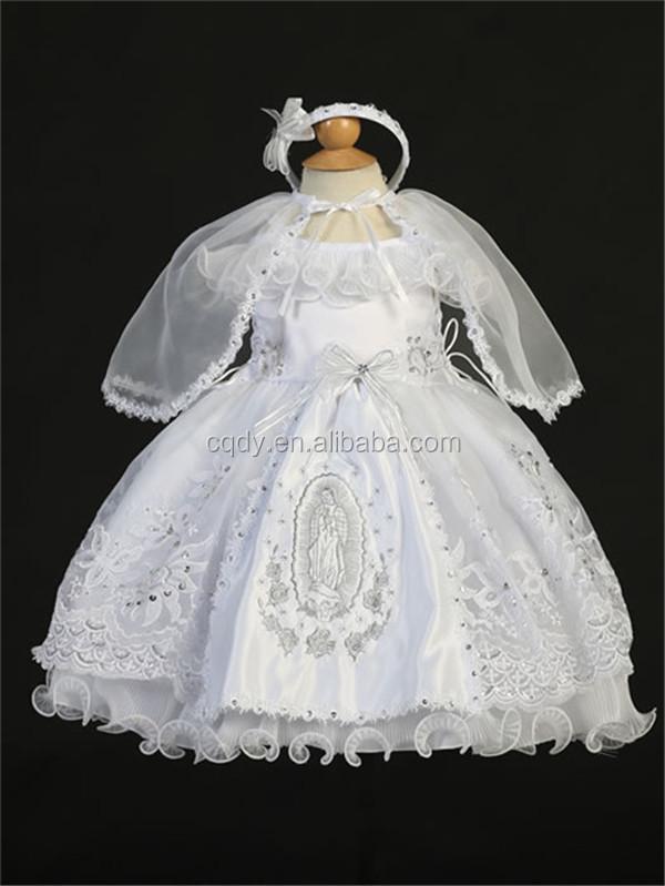 El último Diseño De Oem Blanco Bautizo Vestidos Para Bebé Niña Bautismo Formal Vestidos De Primera Comunión Buy Vestidos De Bautizo De último