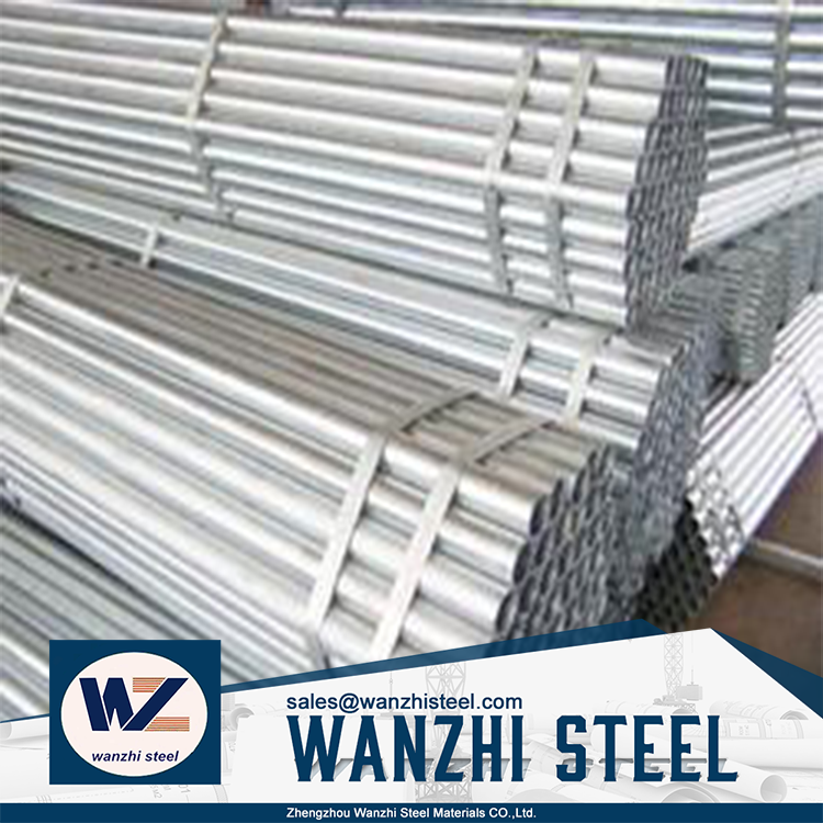 Steel galvanized pipe supplier hot sale gi mechanical properties steel pipe roup
