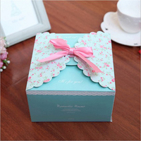 new product recycle packing box gift box for candy cake chocolate box
