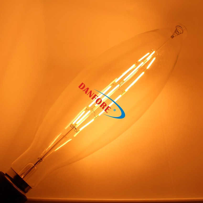 10Watt Oversize Vintage LED Filament Glass Cover BT120 LED Lamp with E40 E27 base Dimmable