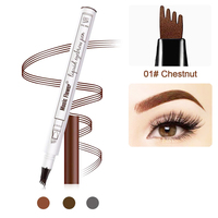 Ready to Ship In Stock Fast Dispatch Accept OEM fine sketch liquid 3d eyebrow pencil tattoo pen waterproof eyebrow pencil
