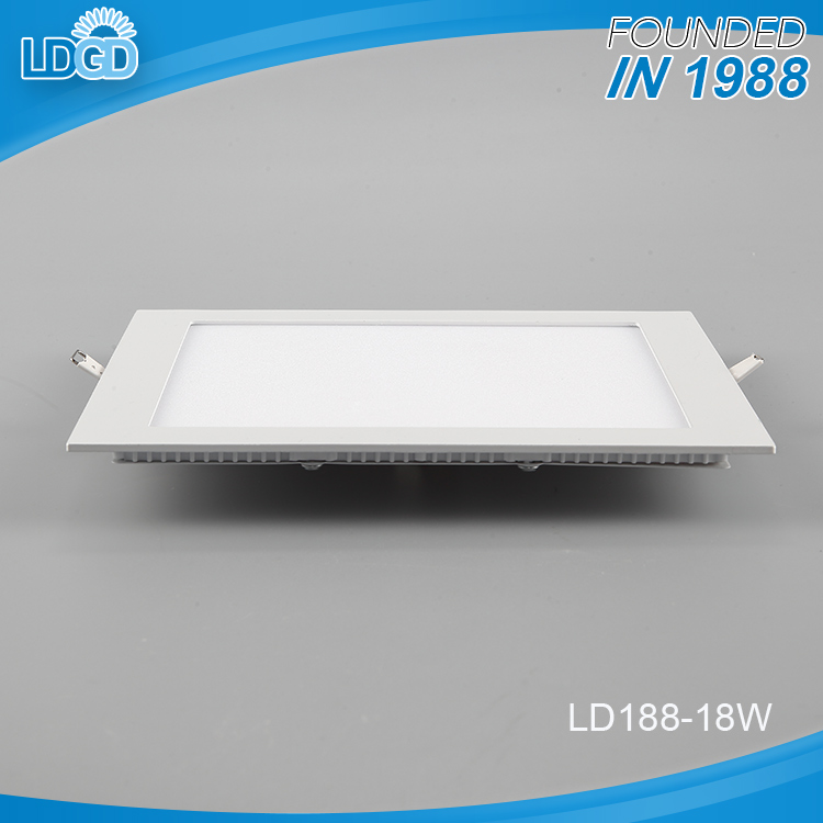 wholesale dimmable square led 18w kitchen light led panel lighting for office