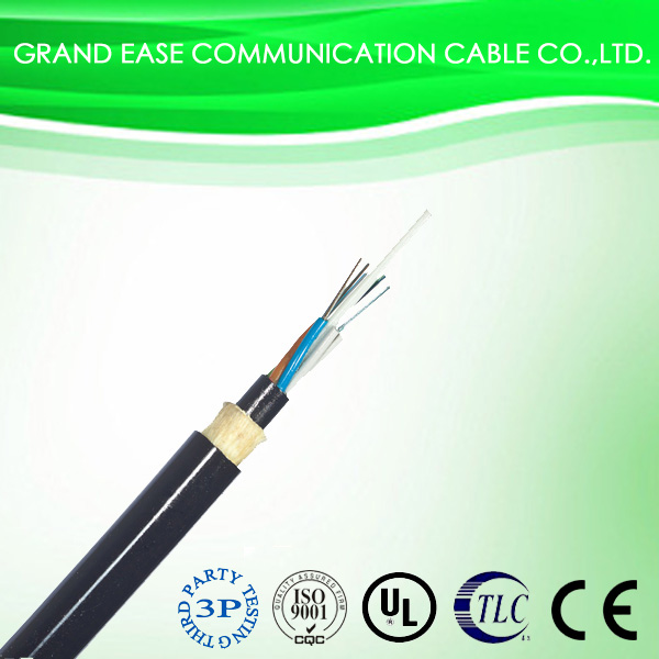 Grandease 12 core ADSS outdoor aerial fiber optical cable made in China