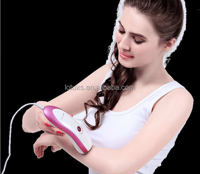 Chinese beauty device manufacture painless hair removal epilateur laser portable
