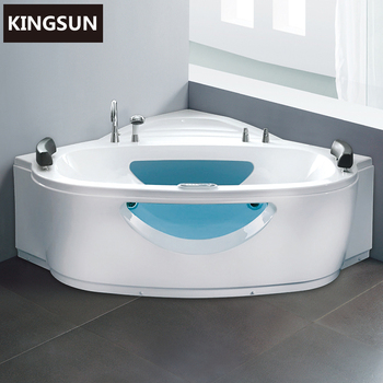 Indoor Portable Whirlpool Massage Freestanding Two Person Most Comfortable  Acrylic Bathtub K 8919