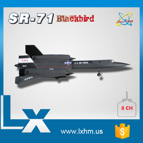 Radio Control ARF Airplane SR71 Rc Airplane