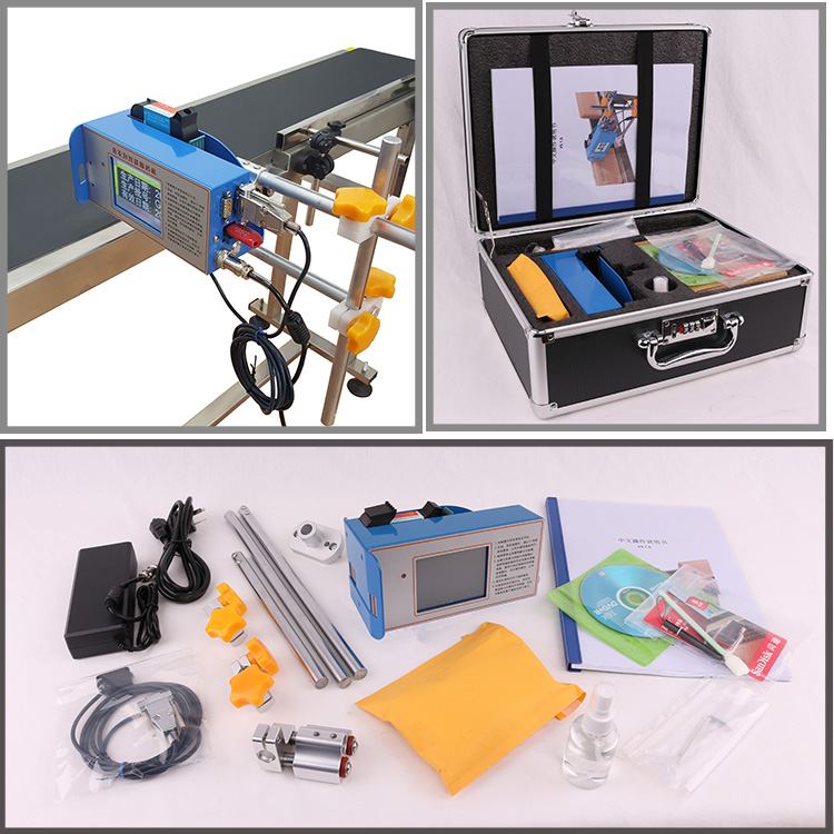 25.4mm One Printing Head Big Character Coding Thermal Foaming Inkjet Printer Handheld & Online Types With H P Technology