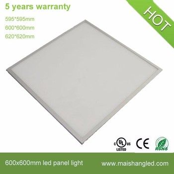 60x60 Cm Led Panel Lighting 40w Hot Square Plastic Decorative Ceiling Panels Light