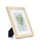 Wholesale office decorative solid wooden picture photo frame wood custom for desktop decoration