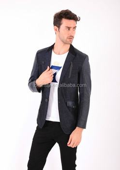 Korean Style High Quality Slim Fit Fashion Casual Suit Blazer For