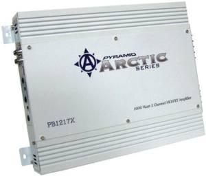 Pyramid PB1217X 1600-Watt 2-Channel Mosfet Arctic Series Amplifier
