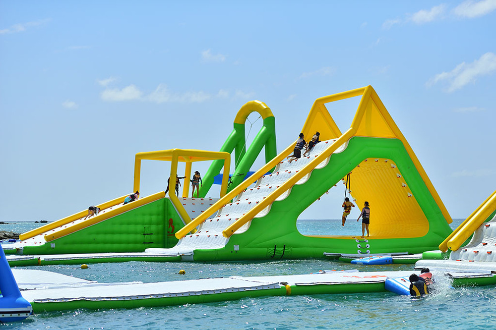 On Sale Inflatable Sea Water Park / Inflatable Floating Aqua Sport ...
