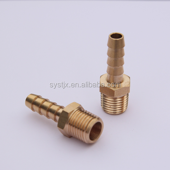 High quality BSP NPT male thread brass hose <strong>fitting</strong>