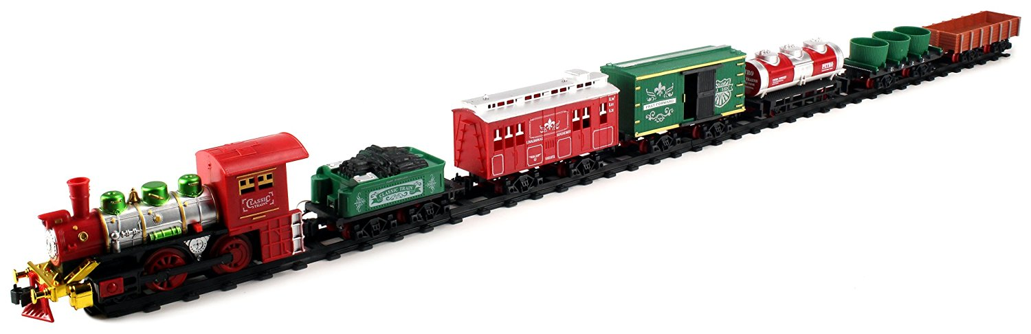 Buy Deluxe Christmas Express 23 Piece Battery Operated Toy ...