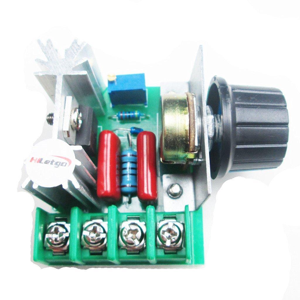 Buy Hiletgo Sg3525 Pwm Controller Module Adjustable Frequency In Dc Motor By Ac Speed Control 2000w Voltage Regula