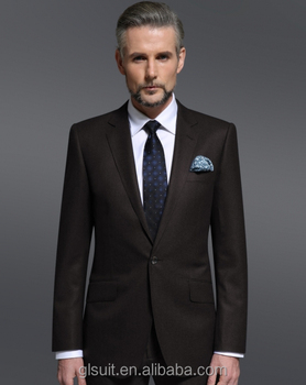 Wholesale 2015 New style 100%wool one button notch Lapel dark