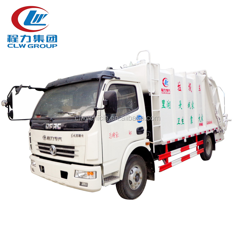 DONGFENG small size tipper garbage truck for sale
