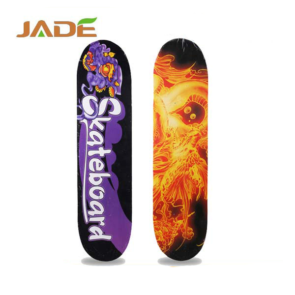 Hot sale 31 inch good quality Canadian maple 7 ply skateboard decks