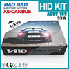 High Idensity canbus X5 hid kit, canbus 55W ac slim car hid xenon kit h7 6000k Good Looking super brightness , BAOBAO Lighting