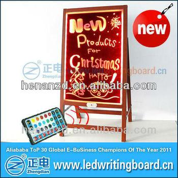 Portable Led Restaurant Menu Board For Sale; Flashing Led ...