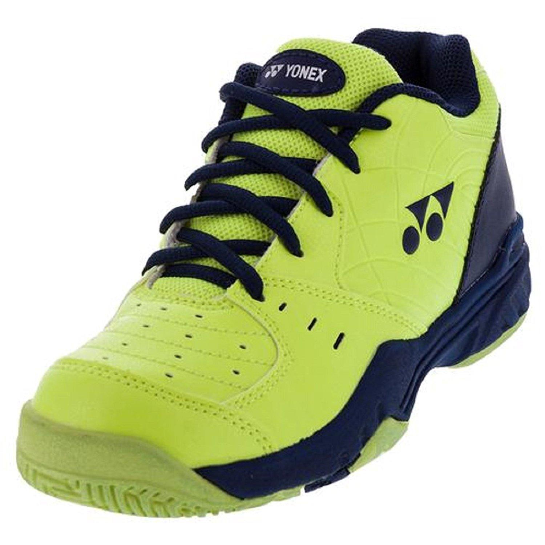 YONEX Juniors` Power Cushion Eclipsion Tennis Shoes, Yellow /Navy