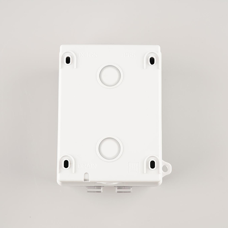 Wk 13a 2 Gang Uk Standard Ip65 Waterproof Industrial Wall Switch Socket