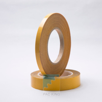Hot melt Adhesive/Solvent Acrylic Adhesive of Double sided PET mesh tape