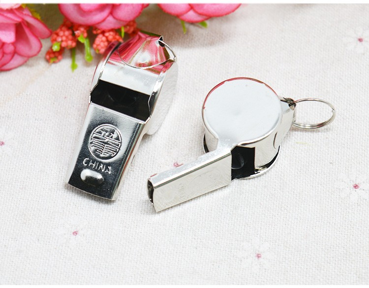 Hot Selling Cheap Customized Logo Promotional Metal Whistle