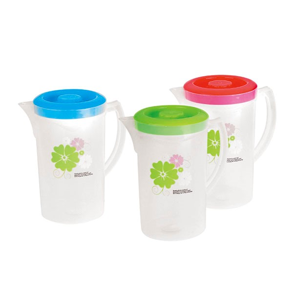Plastic Material and Water Pots&Kettles Drinkware Type 2.1 Liter Plastic Juice Pitcher With Lid