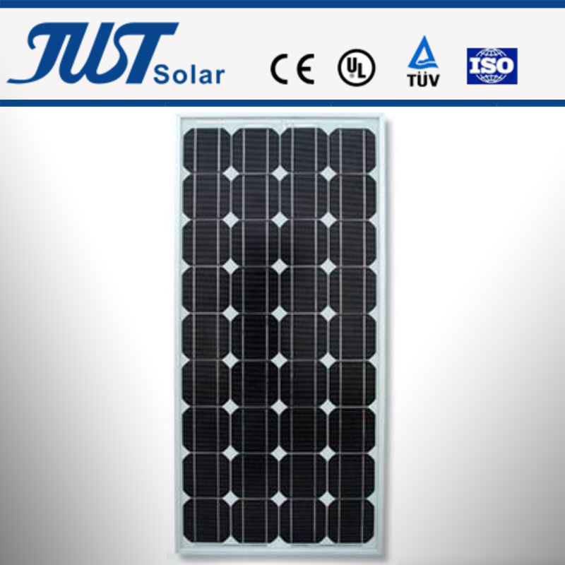 75-100W mono solar panel, solar system, solar system games for kids