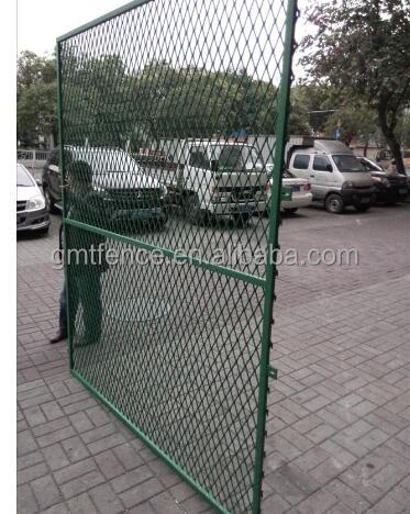 cheap dog fence / Cheap expanded mesh fence / composite fence cheap