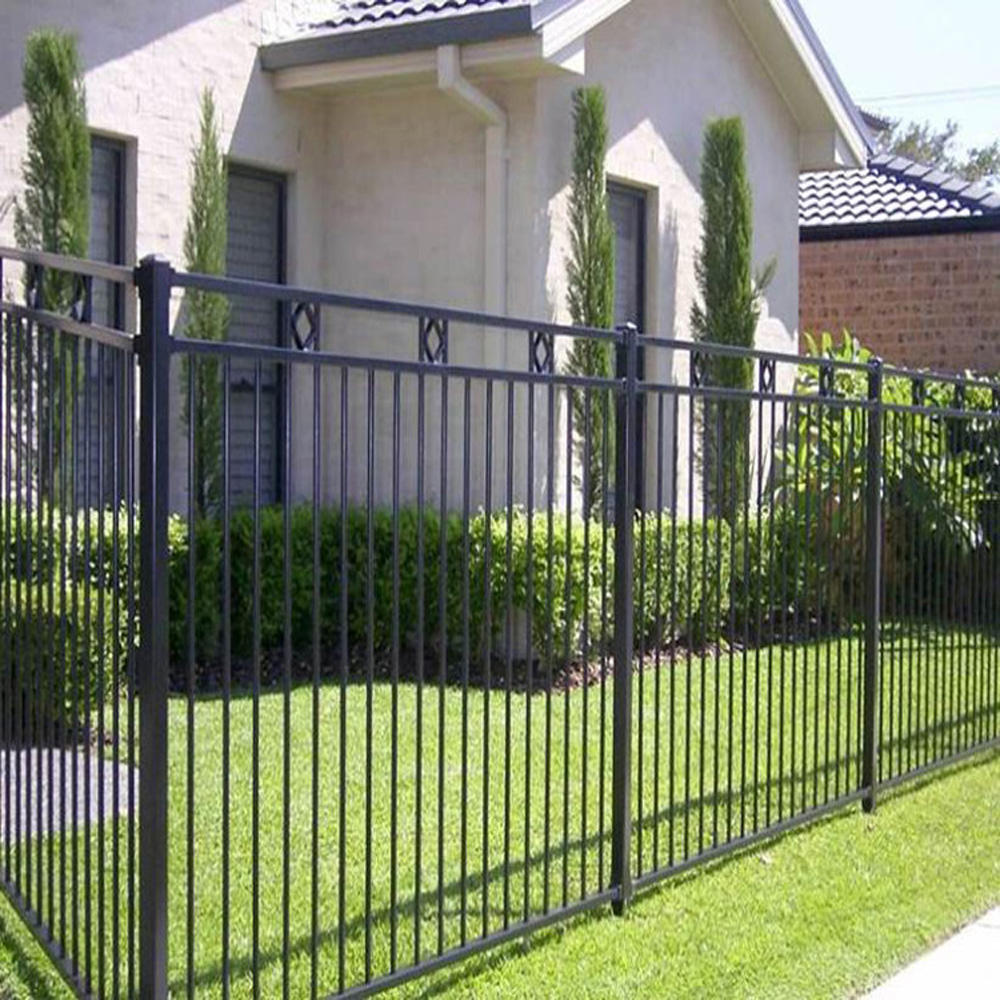 New Product Rod Iron Fence Gate,Retractable Fence Gate,Raw