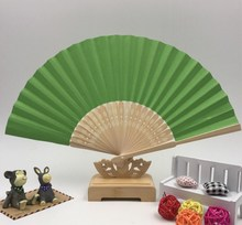cool custom printed manual foldable hand fan