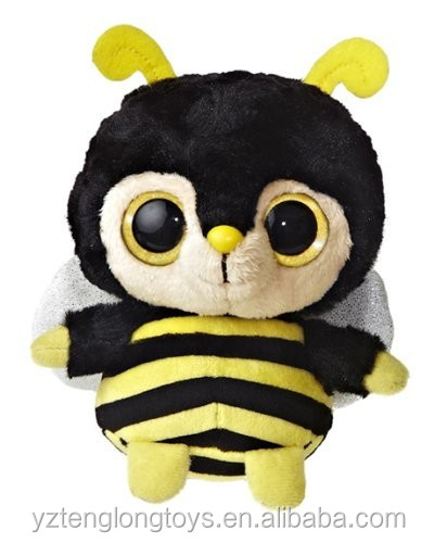 Factory Wholesale Plush Bumble Bee Toys Plush Bumble Bee
