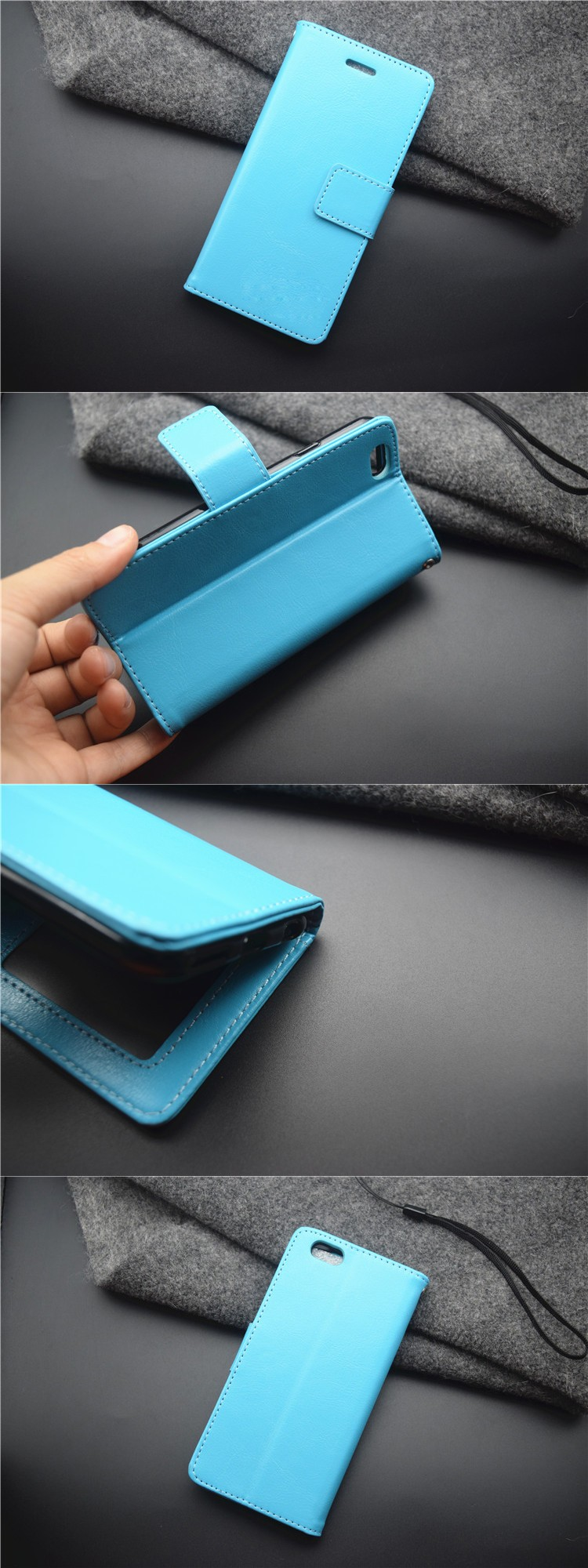 Flip Cover For Gionee M5,Luxury Factory Price For Pu Leather ...