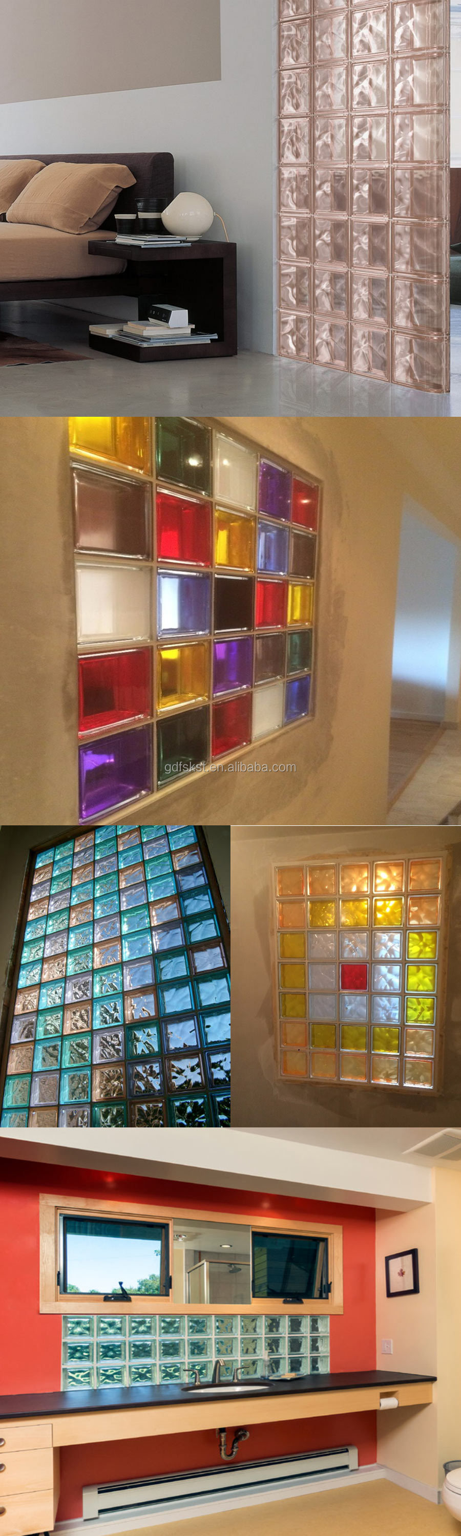 Decorative plastic glass block canada