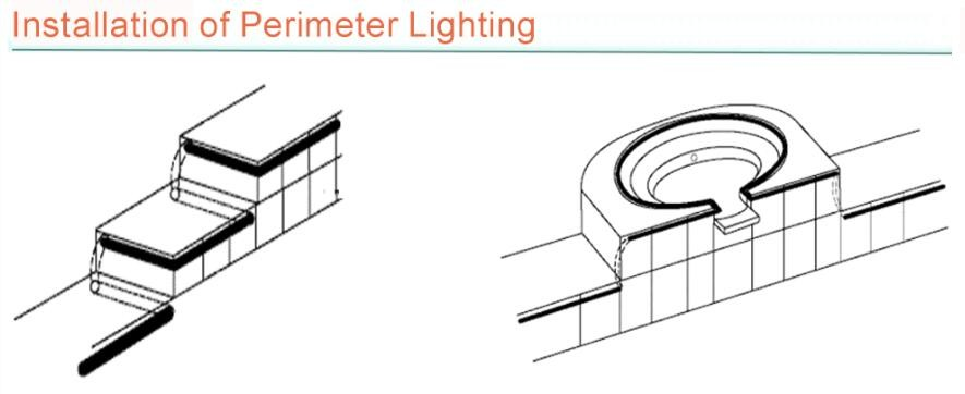 Hot Sale 8mm Side Glow Fiber Optics For Swimming Pool